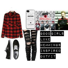 """""""good girls luke hemmings inspired outfit"""" by purpleari358l on Polyvore"""