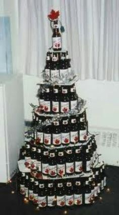 canadian beer canadian things i am canadian canadian humour unusual christmas trees - Redneck Christmas Decorations