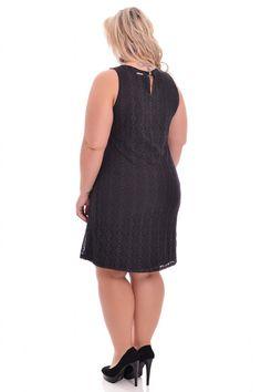 Vestido Amy Black - VK Moda Plus Size | Moda Feminina