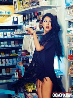 Cosmopolitan Korea June 2013
