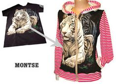 Blusa de malha - T-shirt reconstruction