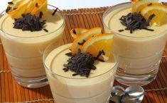 Δροσερό φρουί ζελέ με γιαούρτι και πορτοκάλι με 3 υλικά