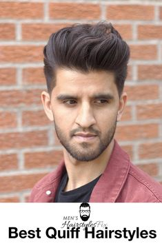 15 Quiff Hairstyles We Absolutely Love - Men's Hairstyles Quiff Hairstyles, Pompadour Hairstyle, Hairstyles Haircuts, Haircuts For Men, Quiff Haircut, The Quiff, Today's Man, Mens Hair, Cut And Style