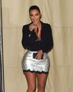 Celebrity Selfies, Celebrity Style, Style Kim K, Kim Kardashian, Kardashian Fashion, Chloe Sevigny Style, Romper With Skirt, Types Of Fashion Styles, Trending Outfits
