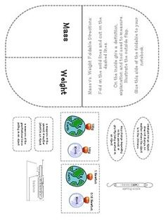 Printables Mass Vs Weight Worksheet venn diagram mass vs weight physical science matter and science