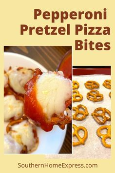 Easy To Make Appetizers, Easy Appetizer Recipes, Easy Snacks, Yummy Snacks, Yummy Food, Keto Snacks, Pretzel Pizza, Pretzel Bites, Slow Cooker Ground Beef