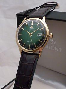 2e0341172ebe a reloj orient automatico bambino fac08002f0 dorado clasico retro anos 50