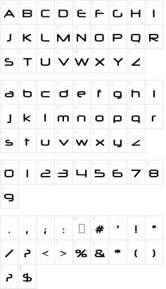 Neuropol Font Schriftart