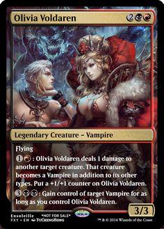Magic the Gathering - Olivia Voldaren by ASliceOfUnagi
