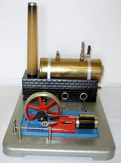 Gama Steam engine. Made in Czechoslovakia