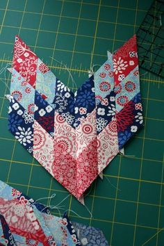 The best lone star quilt tutorial ever. Can't wait to finish my grandmother's star that she wasn't able to complete.