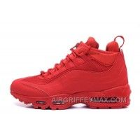 reputable site 19db4 18317 For Sale Air Max 95 Sneakerboot ALL RED MEN S Black Huarache, Nike Huarache,  Nike