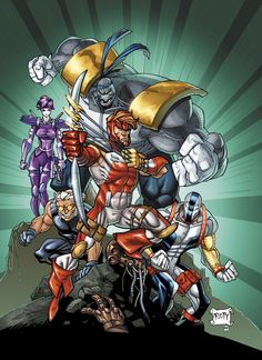 Ryan Ottley | Youngblood // artwork by Ryan Ottley and Ross Hughes (2012)Apparently ...