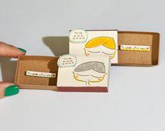 Cute Love Card / Anniversary Card/ Proposal Card / by shop3xu