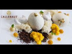 White chocolate & mango eggs dessert recipe, from Pastry Chef Martin Chiffers