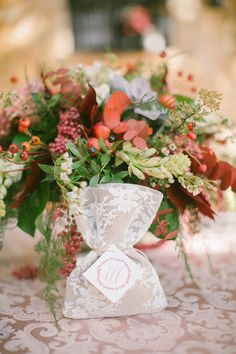 Photography: Anna Roussos Photography - annaroussos.com  Read More: http://www.stylemepretty.com/destination-weddings/2014/12/22/boho-chic-winter-wedding-inspiration/