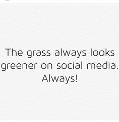 Social media is only a glimpse into someones life. We all have a behind the scenes. Memo Boards, Real Life Quotes, Quotes To Live By, Take A Break Quotes, Social Media Detox, Facebook Quotes, Broken Quotes, Social Media Quotes, Thoughts