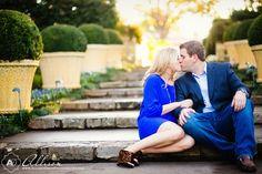 The Dallas Arboretum is a lovely place for engagement portraits. Rachel_Kevin_Dallas_Engagement_Portraits_byAllisonDavisPhotography__010