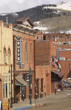Cripple Creek, Colorado... My favorite town as a kid, and then they turn it into a casino so I can love it as an adult!!