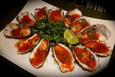Bloody Mary Oysters recipe! The flavours sound amazing!  http://emsfoodforfriends.com.au/bloody-mary-oysters/