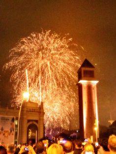 Festes de la Mercè 2014 a Barcelona: espectacle Piromusical