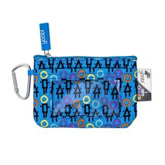 6833fb84d Yoobi x i am OTHER ID Zip Case - Blue Community Print