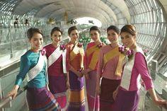 Thai airways cabin crews