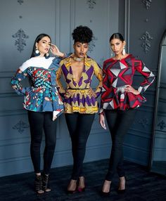 Collection of the most beautiful and stylish ankara peplum tops of 2018 every lady must have. See these latest stylish ankara peplum tops that'll make you stun African Attire, African Wear, African Dress, African Style, African Inspired Fashion, African Fashion Dresses, Ankara Fashion, Women's Fashion, African Outfits