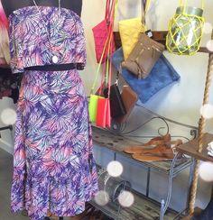 Two piece floral Apricot Lane Dress