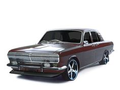 Crazy Cars from Russia gaz-24