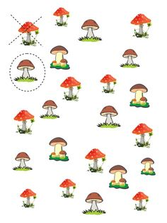 Собери гирбы Autumn Activities For Kids, Toddler Learning Activities, Preschool Education, Math For Kids, Crafts For Kids, Kindergarten, Autumn Nature, Nature Crafts, Science Nature
