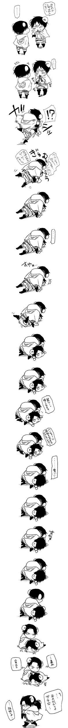 Levi and Eren || AoT
