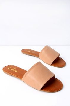 42432bf052 Addison Natural Slide Sandals