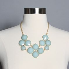 Eye Candy Necklace: Mint