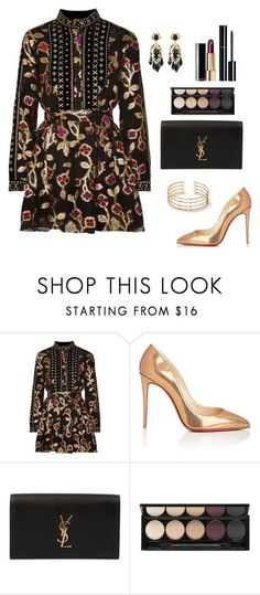 """""""Untitled #346"""" by bajka2468 ❤ liked on Polyvore featuring Dodo Bar Or, Christian Louboutin, Yves Saint Laurent, Chanel, Witchery and Gucci"""