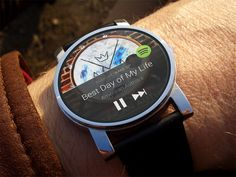 Spotify for Android Wear by Graham Macphee