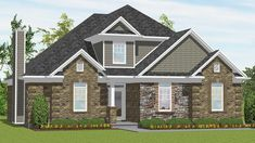 Foxcrofte - Taylor Homes 161 Contemporary 1638 Sq. Ft. #newhome #taylorbuilt #dreamhome