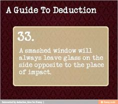A guide to deduction 33