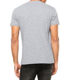 Camiseta Criativa Urbana Frases Engraçadas e Divertidas Não Leia a Próxima  Frase Manga Curta Cinza Mescla 1c1d0dc1ed5