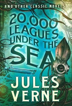 Image result for 20 000 leagues under the sea book cover