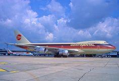 Continental Airlines Boeing 747-200; N605PE, August 1987 by Aero Icarus, via Flickr