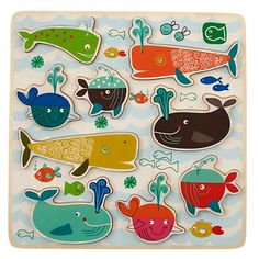 Watch for Whales Puzzle in New Toys and Gifts | The Land of Nod