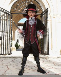 Kids Costumes for Halloween & Dress-up Scary Boy Costumes, Little Boy Halloween Costumes, Vampire Costumes, Family Costumes, Halloween Dress, Halloween Outfits, Diy Costumes, Halloween 2013, Prince Costume