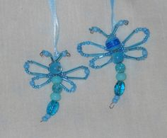 Glass Bead Dragonflies
