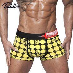 869fc954000a9 Хит! Мужское сексуальное нижнее белье, боксеры, шорты, мужские хлопковые  боксеры, спортивные трусы с мешочком для пениса, фирма Wonderjock, большой  размер ...