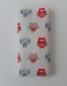 Sunglasses Case, Glasses Case, Owl Fabric £10.00
