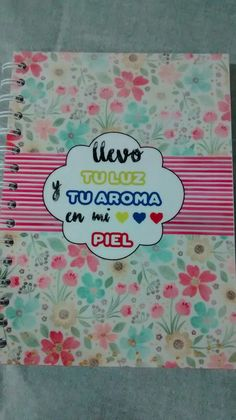 Libreta Decorada Instagram: @arteslada