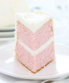 One Bowl Pink Velvet Cake with Whipped Buttercream ~ http://iambaker.net