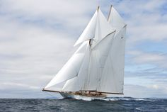 """ Schooner Yacht On A Perfect Sailing Day "" "" Schooner Yacht On A Perfect Sailing Day "" - http://sailorgil.tumblr.com/post/26308687527/schooner-yacht-on-a-perfect-sailing-day"