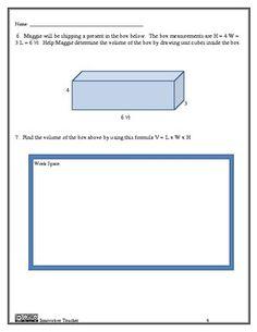 Geometry 6th Grade Assessment - CCSS